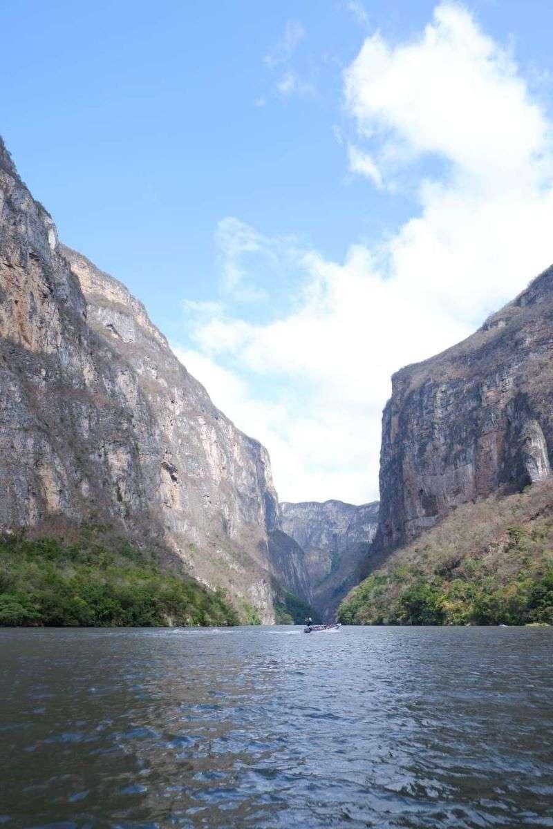 Viaggio in Messico Canon Sumidero