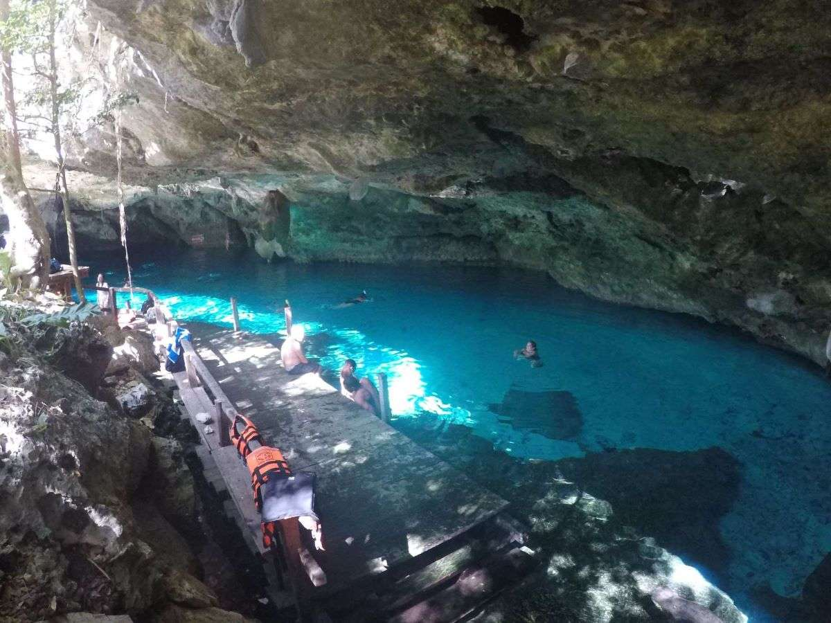 Viaggio in Messico Cenote Dos Ojos