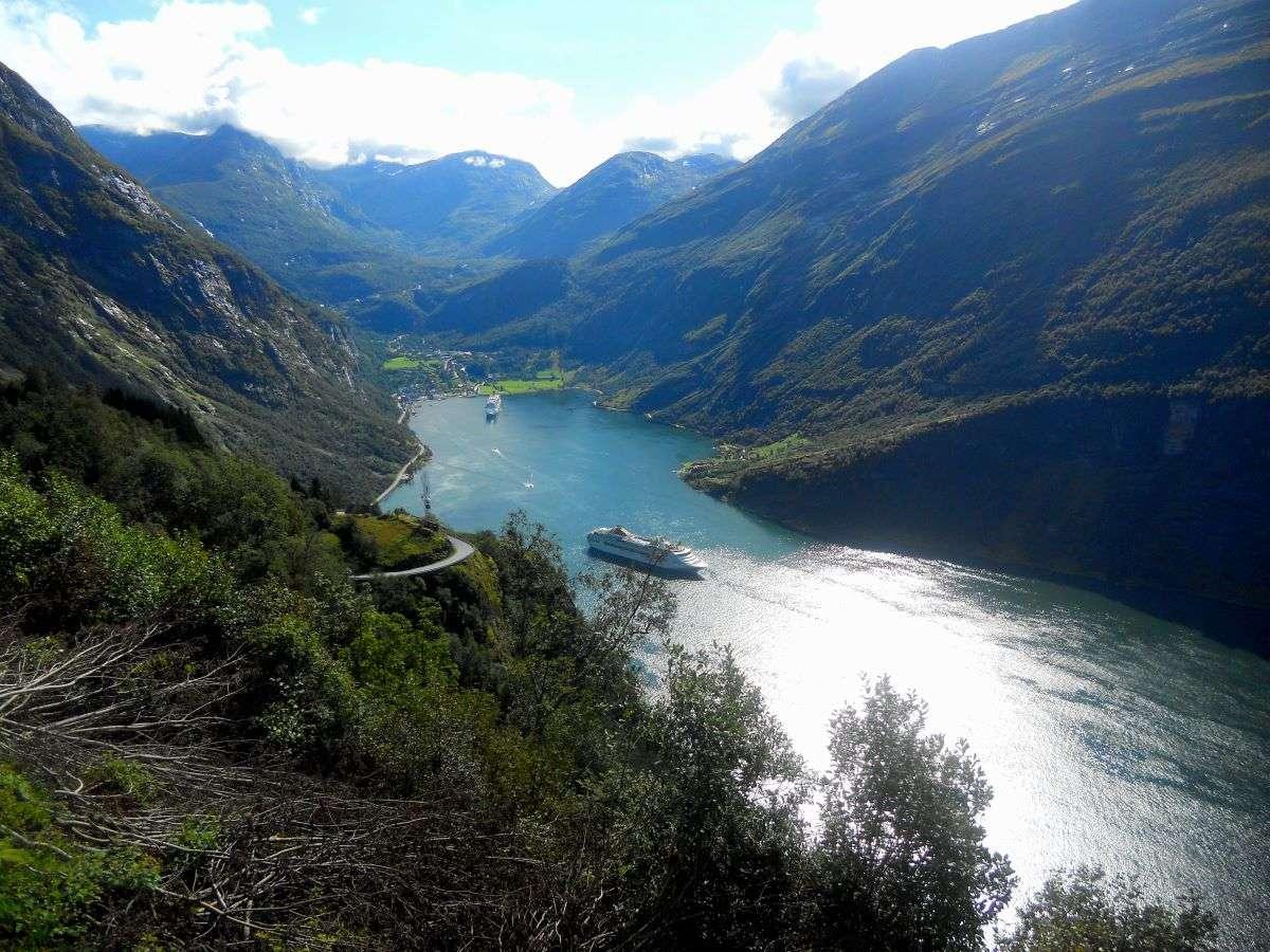 Viaggio nei fiordi norvegesi Geiranger