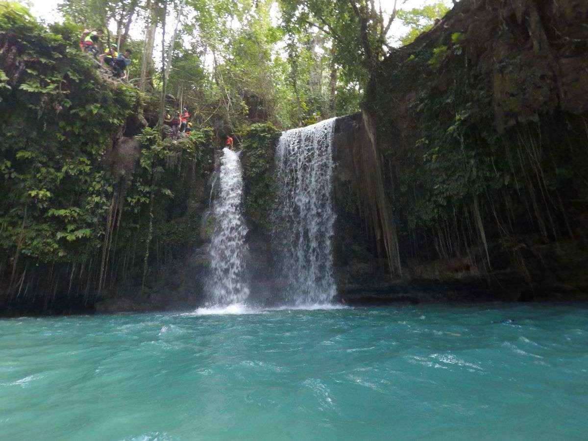 Viaggio nelle Filippine Kawasan Falls