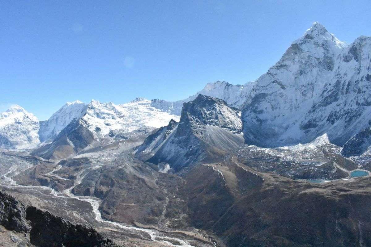 Vista da Nangkartshang Peak