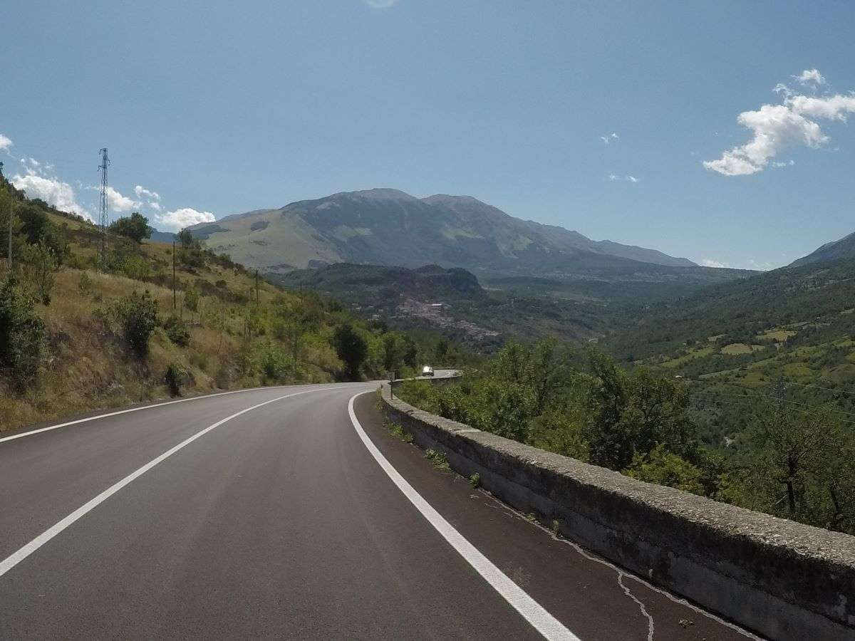 Giro della Majella in bici Caramanico