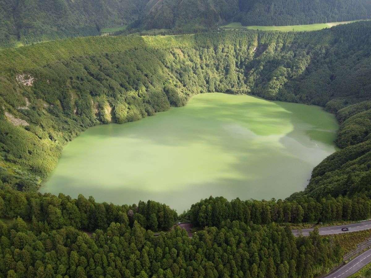 Viaggio alle Azzorre lagoa Santiago