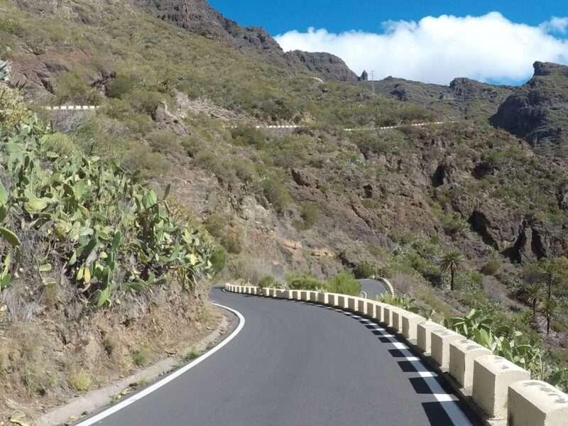 Giro in bici a Tenerife