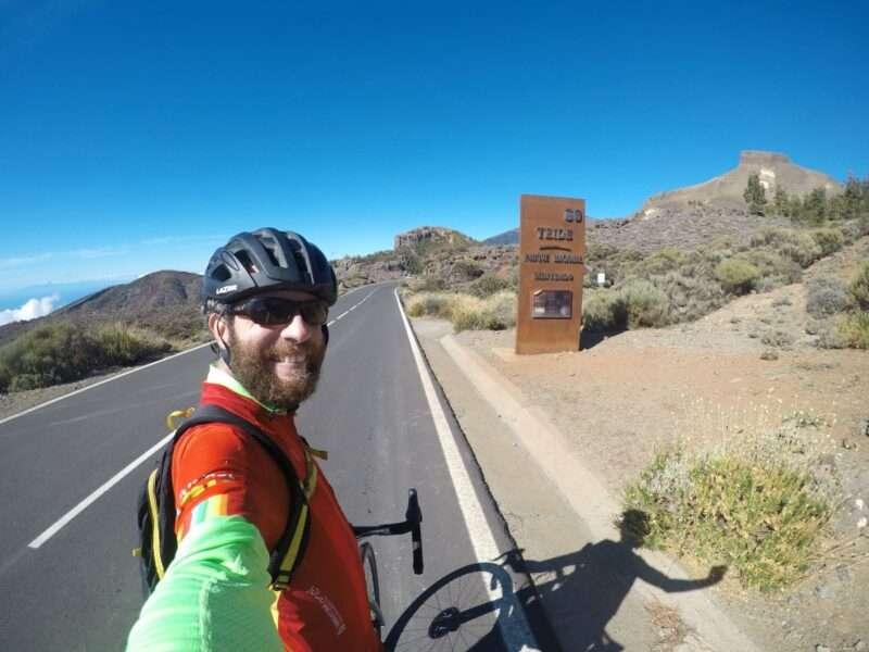 Salita al Teide in bici