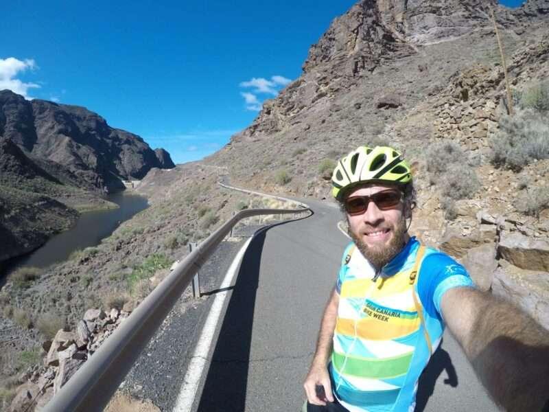 Bici a Gran Canaria canyon