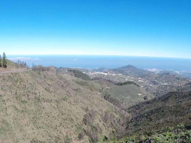 In bici a Las Palmas