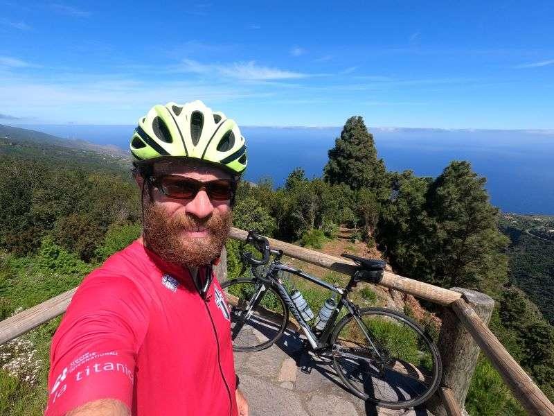 Canarie in bici Coast to Coast