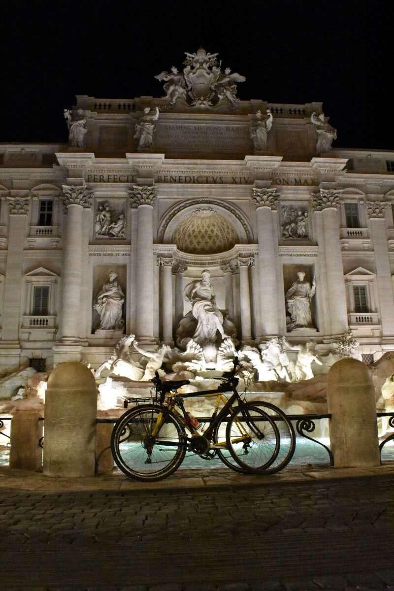 giro in bici a roma