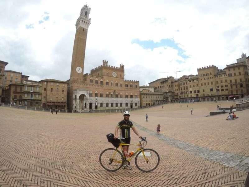 Roma Milano in bici Siena